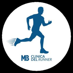 logo runner con sfondo bianco